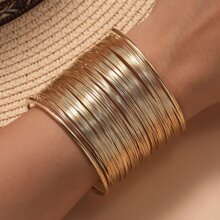 Layered Cuff Bracelet