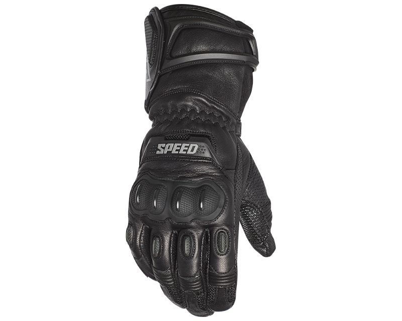 Speed and Strength 885178 Revolt Leather Gloves Black 2XL