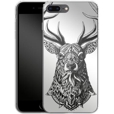 Apple iPhone 8 Plus Silikon Handyhuelle - Ornate Buck von BIOWORKZ