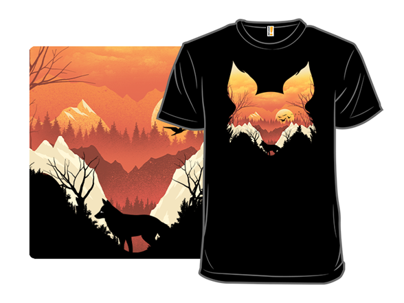 Orange Sunset T Shirt