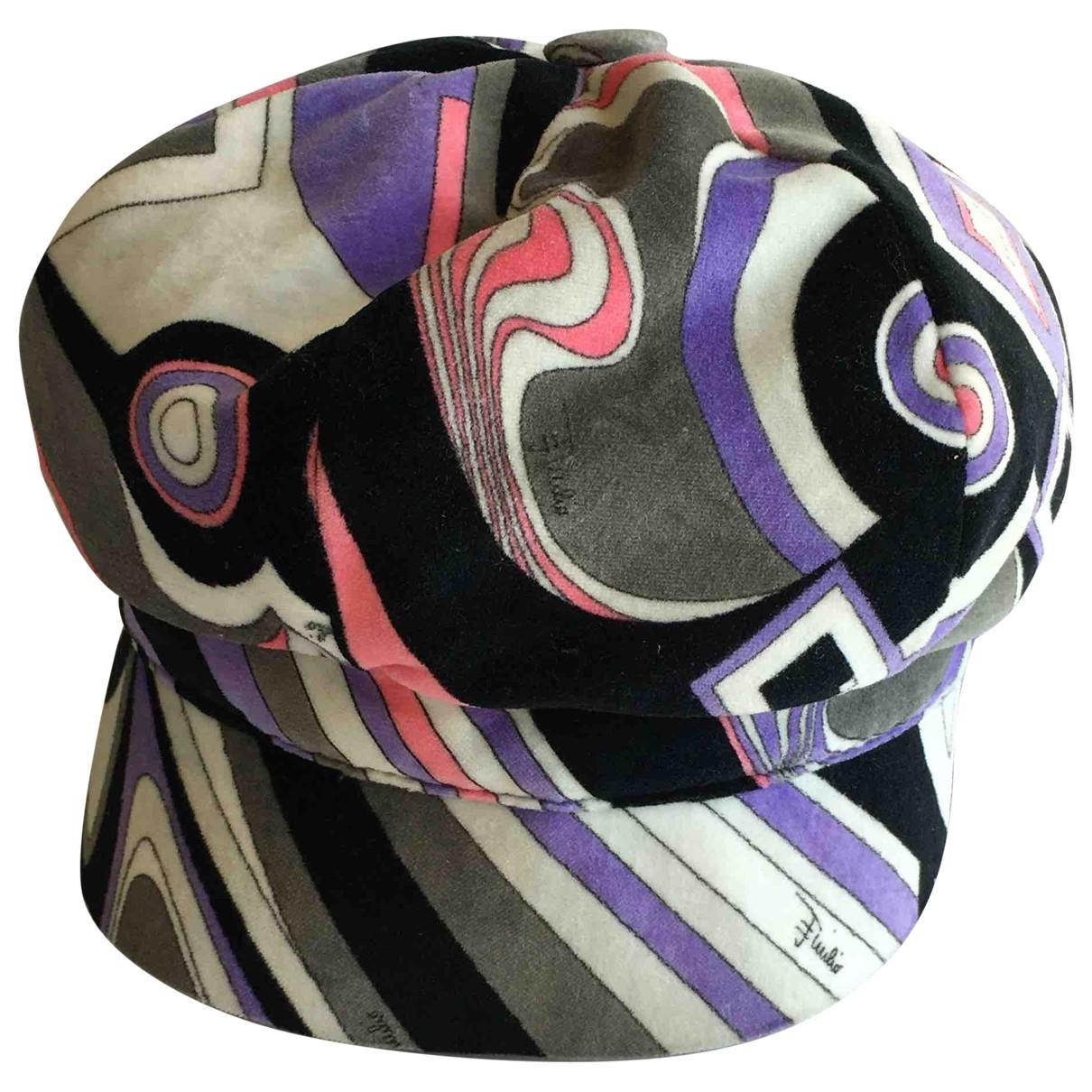 Emilio Pucci \N Multicolour Cotton hat for Women S International
