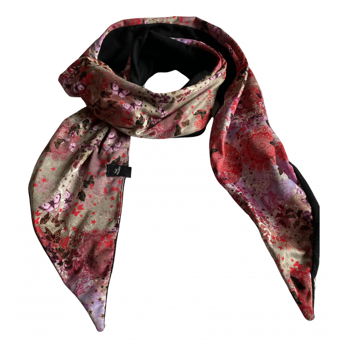 Non Signé / Unsigned N Multicolour scarf for Women N
