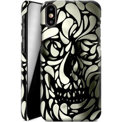 Apple iPhone X Smartphone Huelle - Skull von Ali Gulec