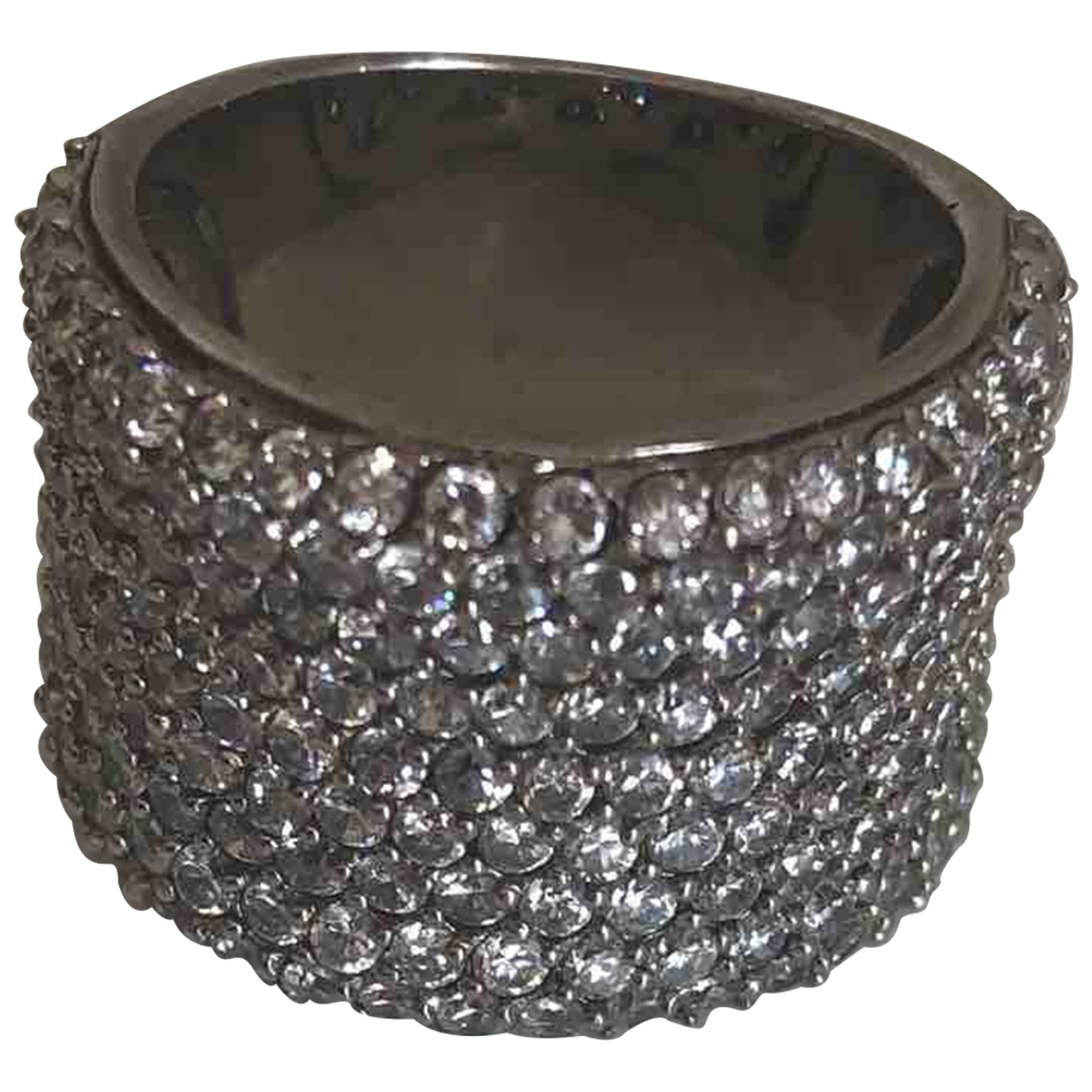 Non Signe / Unsigned \N Ring in  Silber Metall