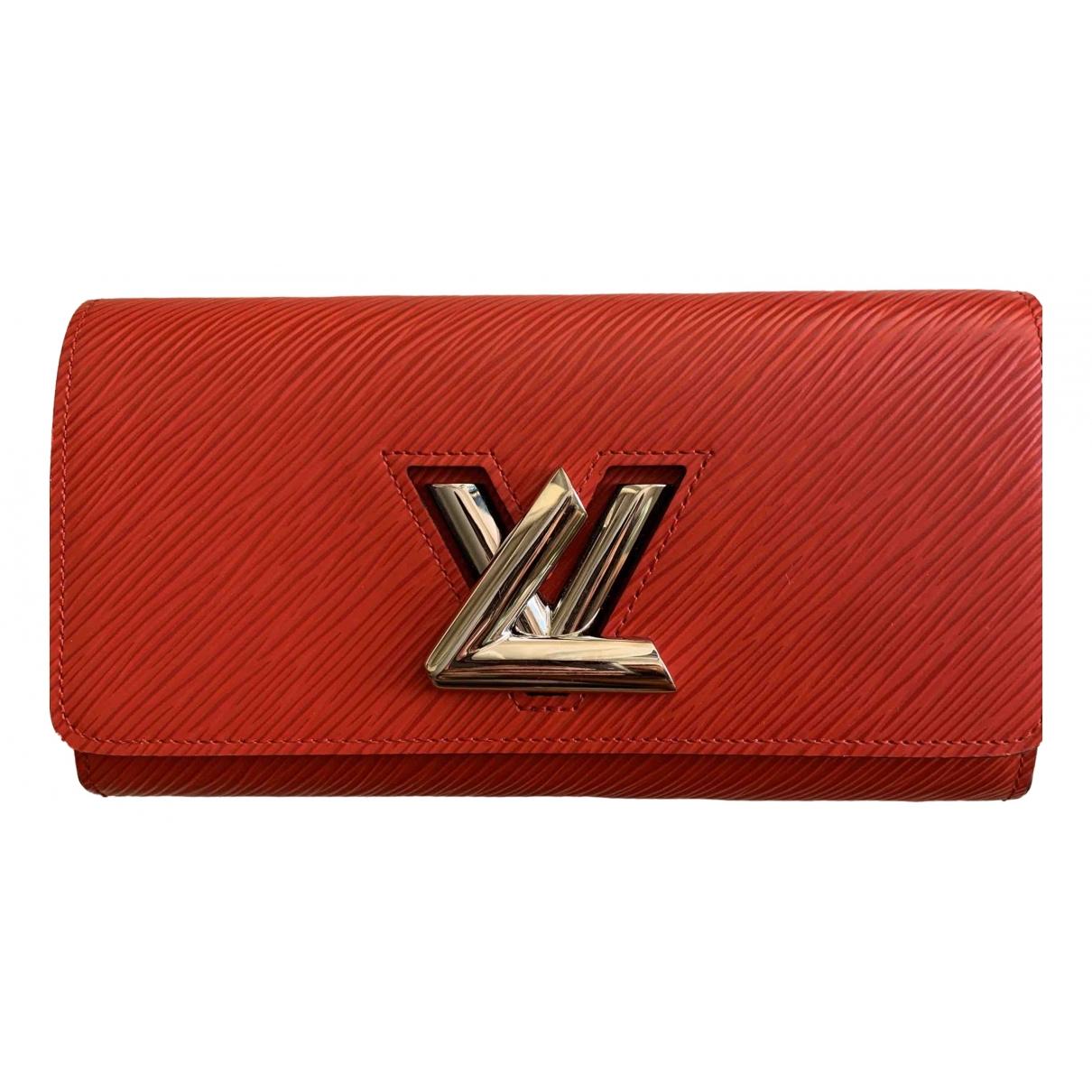 Louis Vuitton Twist Red Leather wallet for Women \N