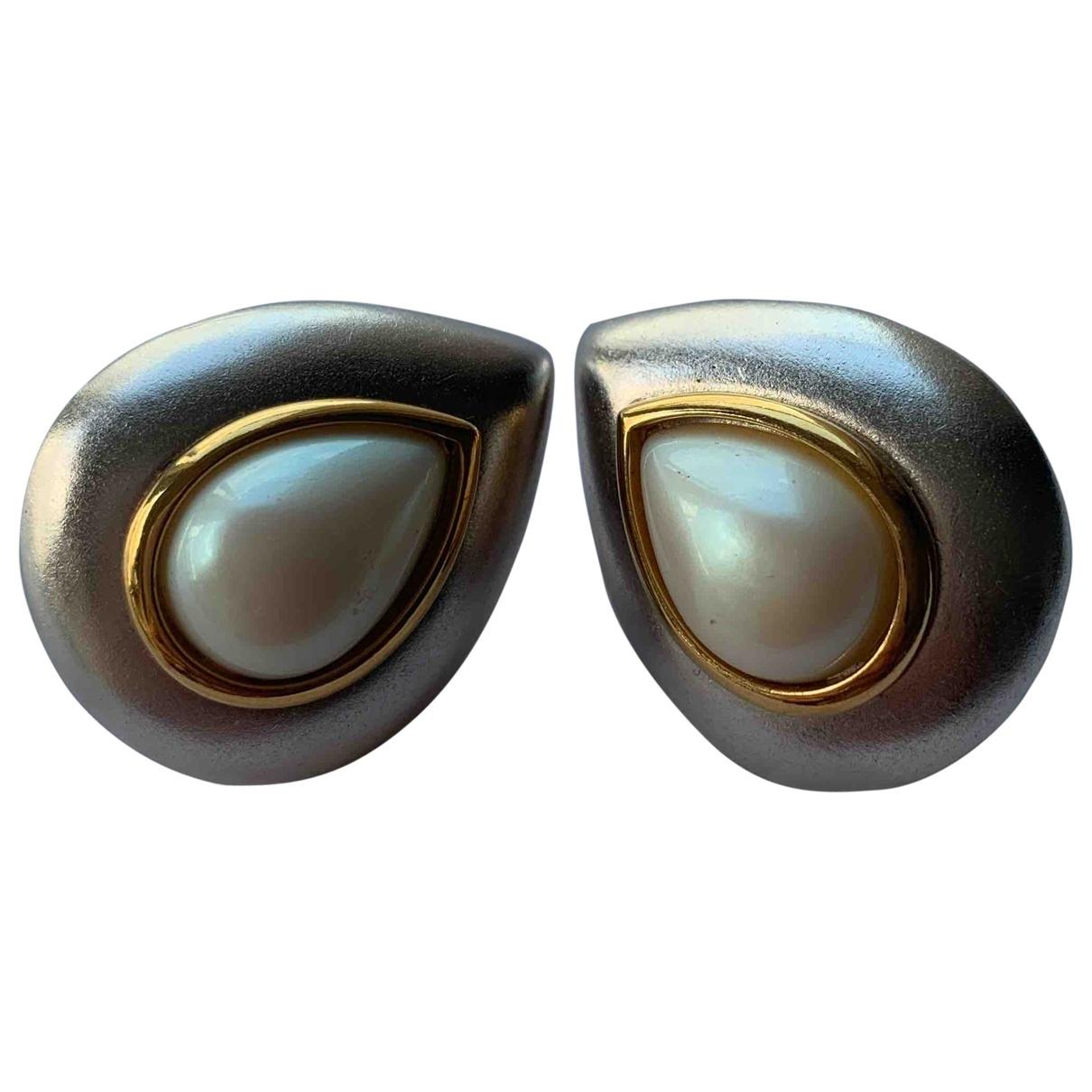 Yves Saint Laurent \N Pearl Earrings for Women \N