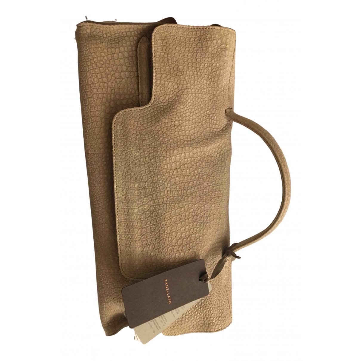 Zanellato \N Handtasche in  Grau Leder