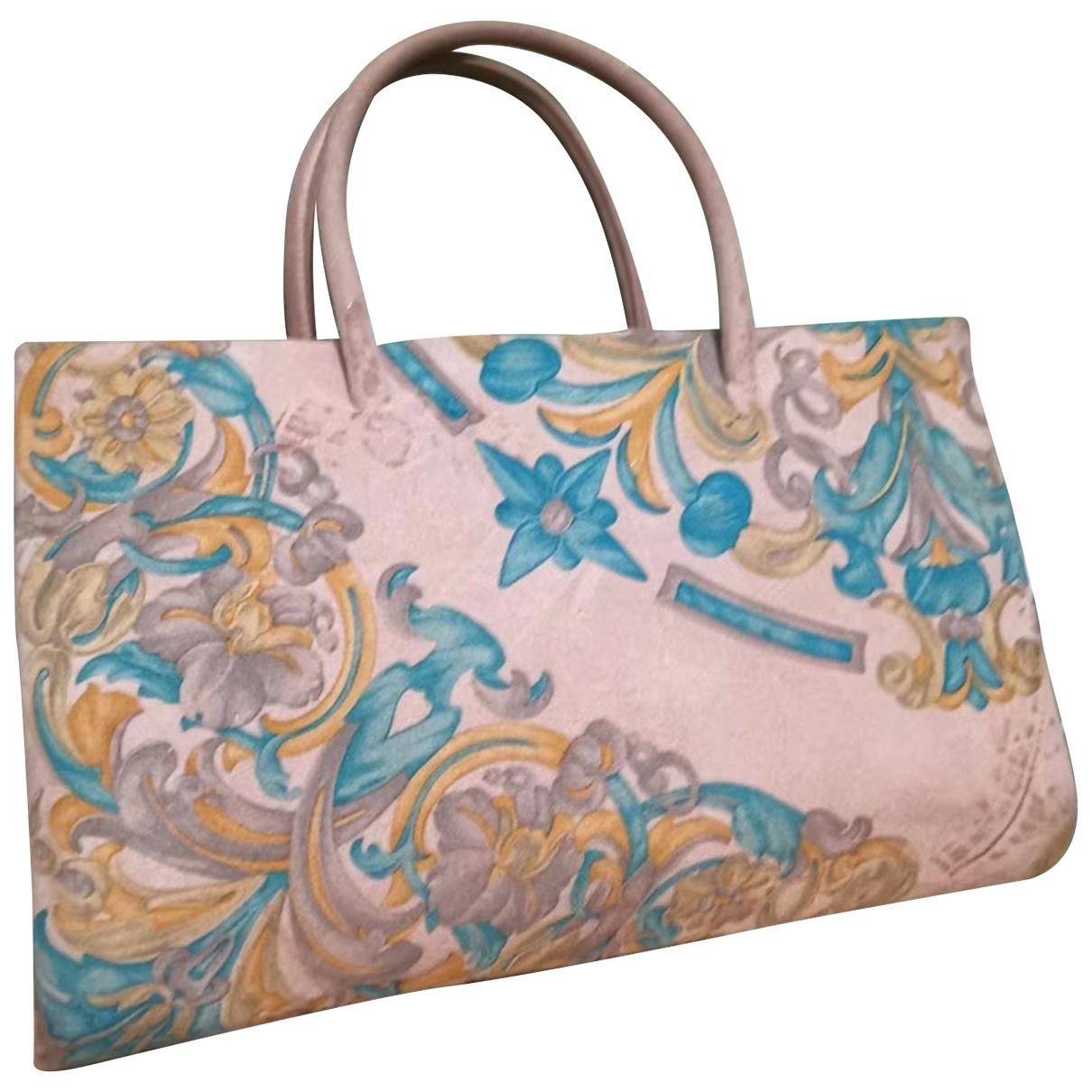 Loewe \N Beige Suede handbag for Women \N