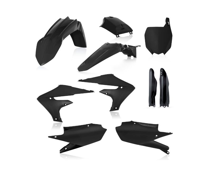 Acerbis 2736350001 Full Plastic Kit Black Yamaha YZ450F 18-20