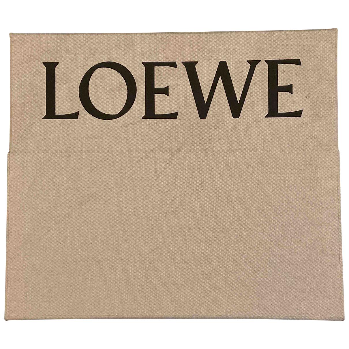 Loewe - Art   pour lifestyle en coton - beige