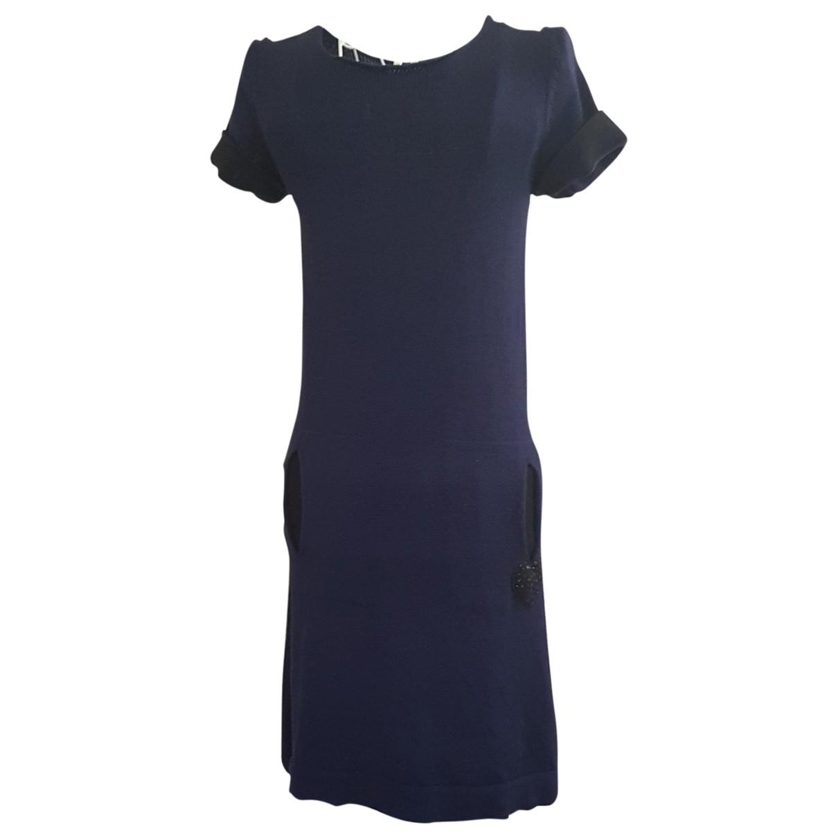 Twin Set \N Kleid in  Blau Wolle