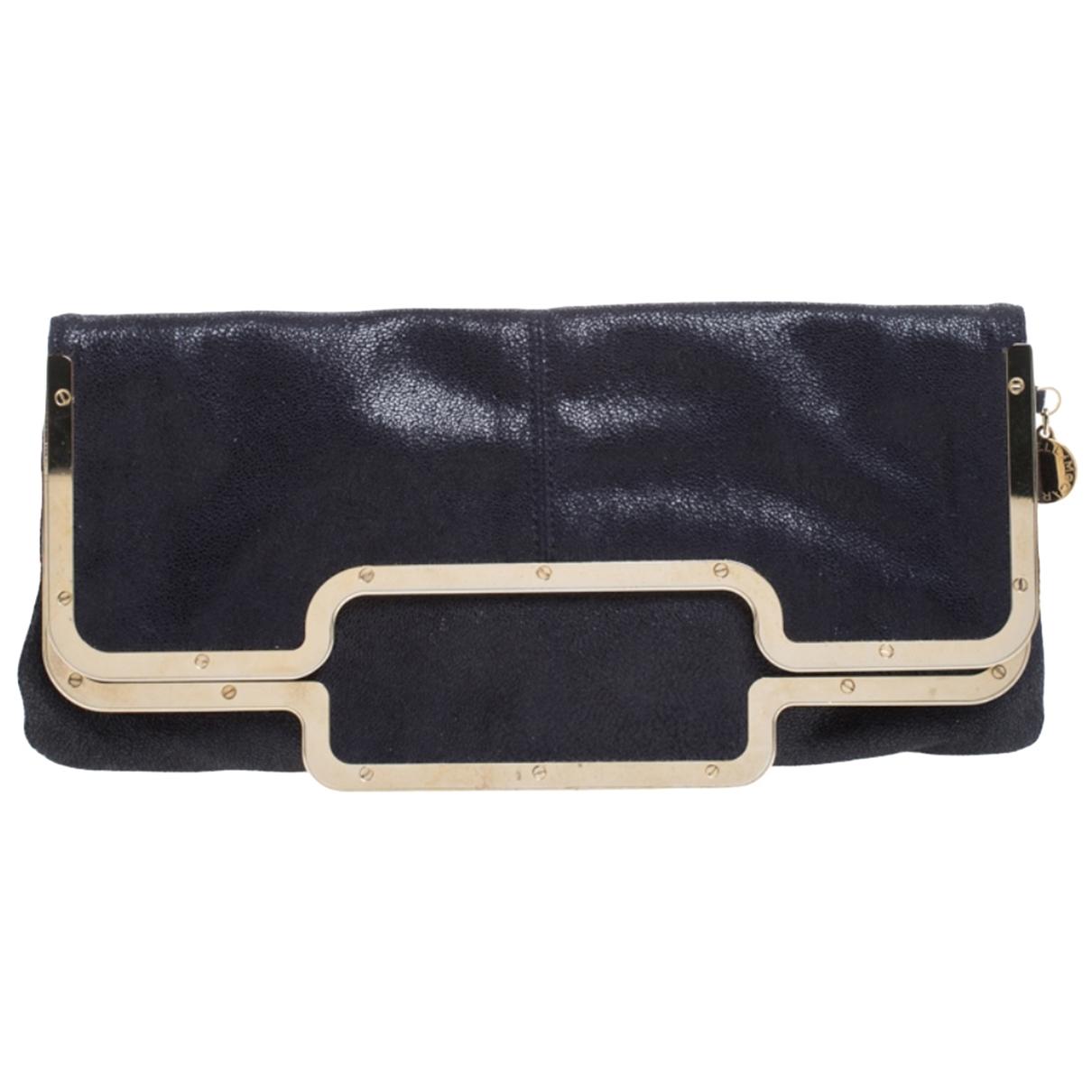 Stella Mccartney \N Black Leather Clutch bag for Women \N