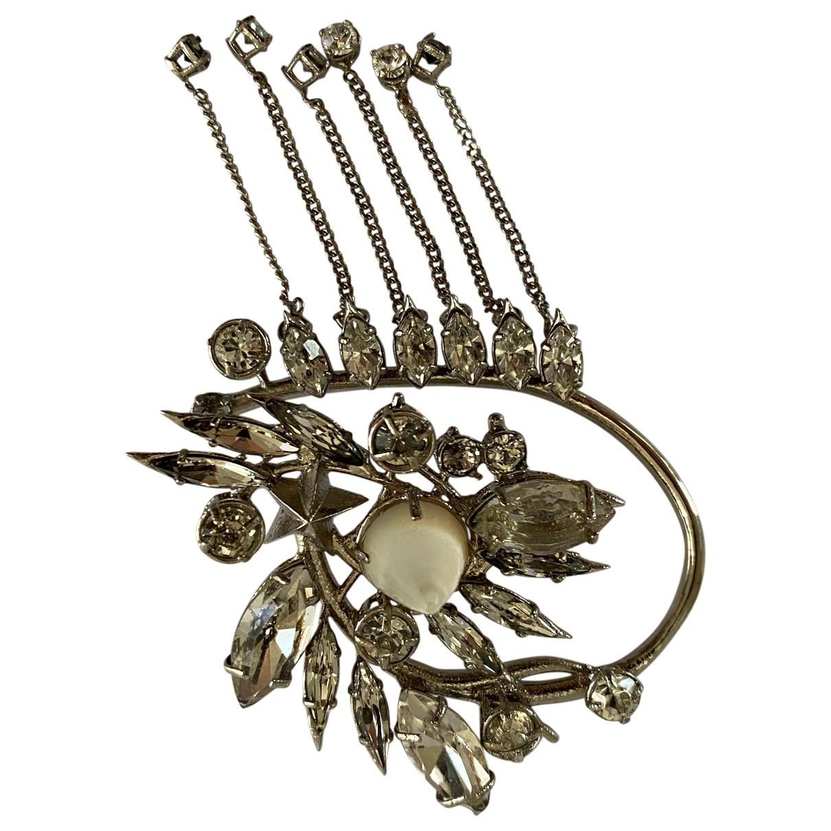 Givenchy - Boucles doreilles   pour femme en metal - argente