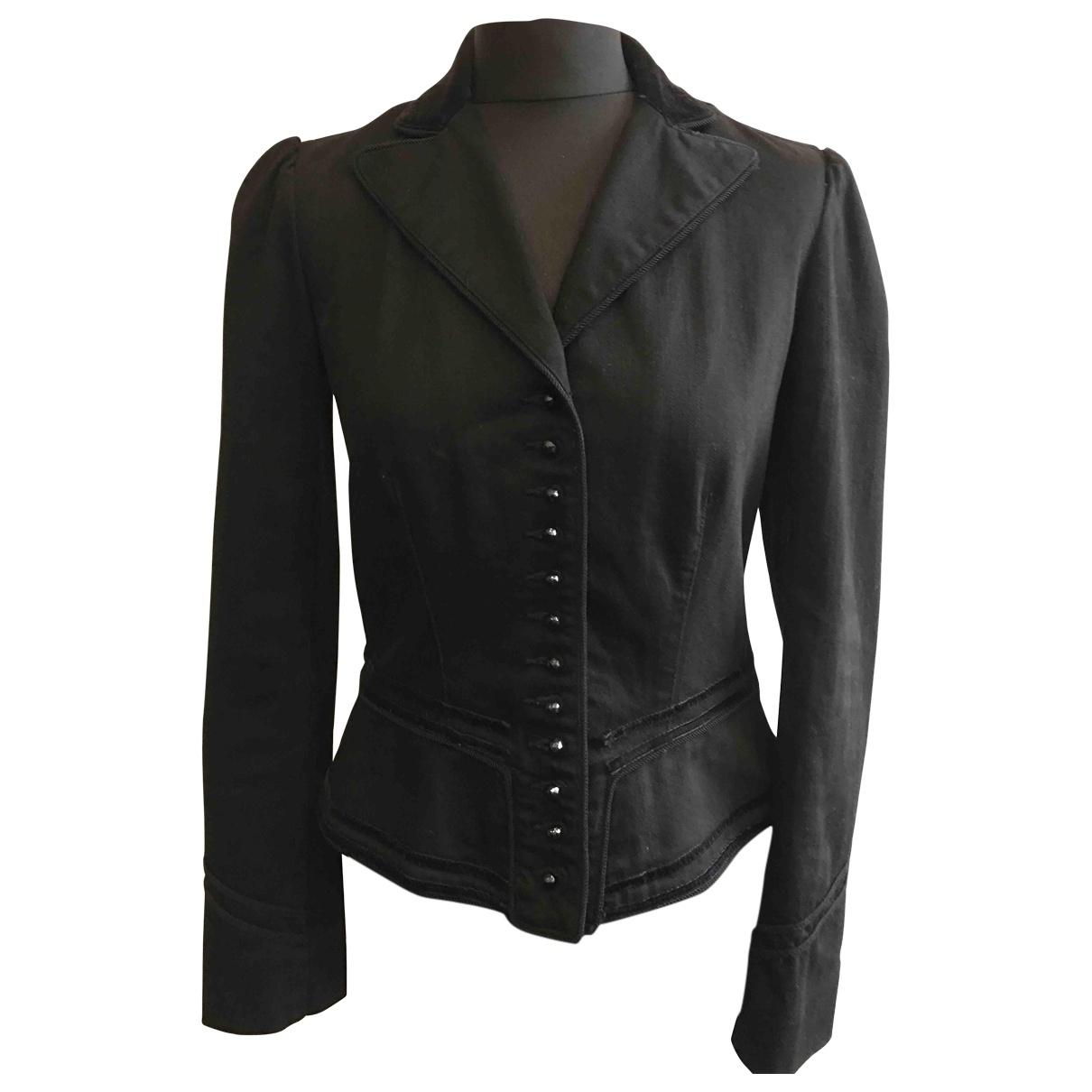 Lauren Ralph Lauren \N Black Cotton jacket for Women S International