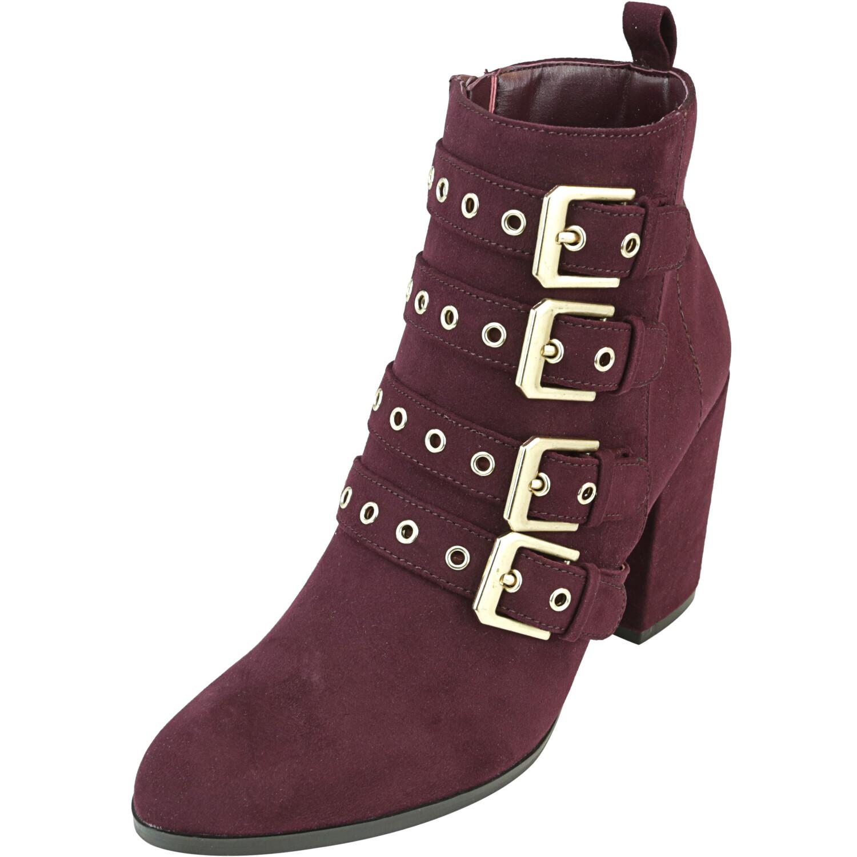 Carlos By Santana Women's Gamma Syrah High-Top Fabric Boot - 7M