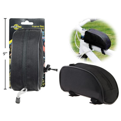 CYCLEPRO Bike Top Tube Sac Tube Avant Cadre Sac Zipper Design