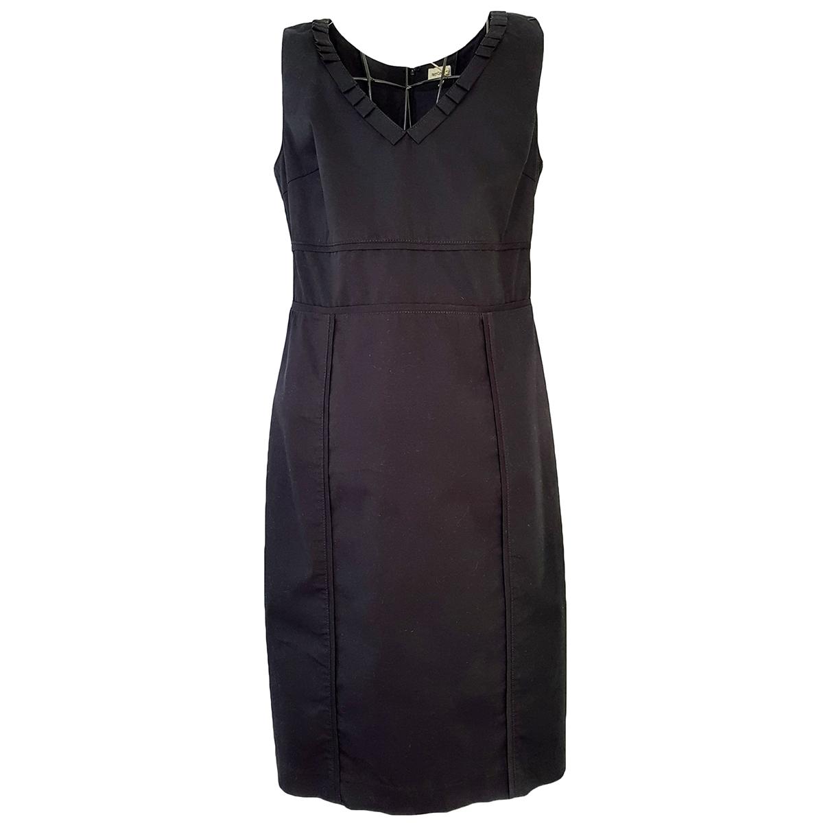 Henry Cotton \N Kleid in  Schwarz Baumwolle