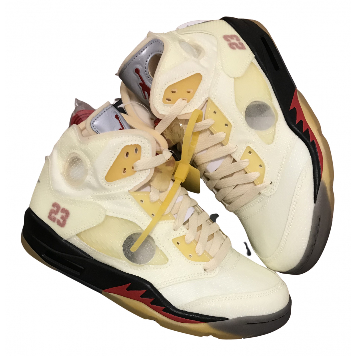 Jordan - Baskets Air Jordan 5 pour femme - beige