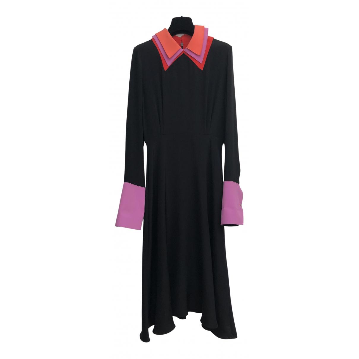 Roksanda N Black Silk dress for Women 10 UK