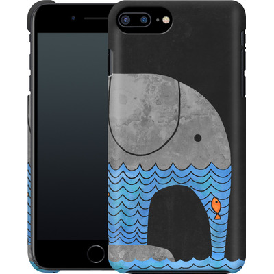 Apple iPhone 8 Plus Smartphone Huelle - Thirsty Elephant von Terry Fan