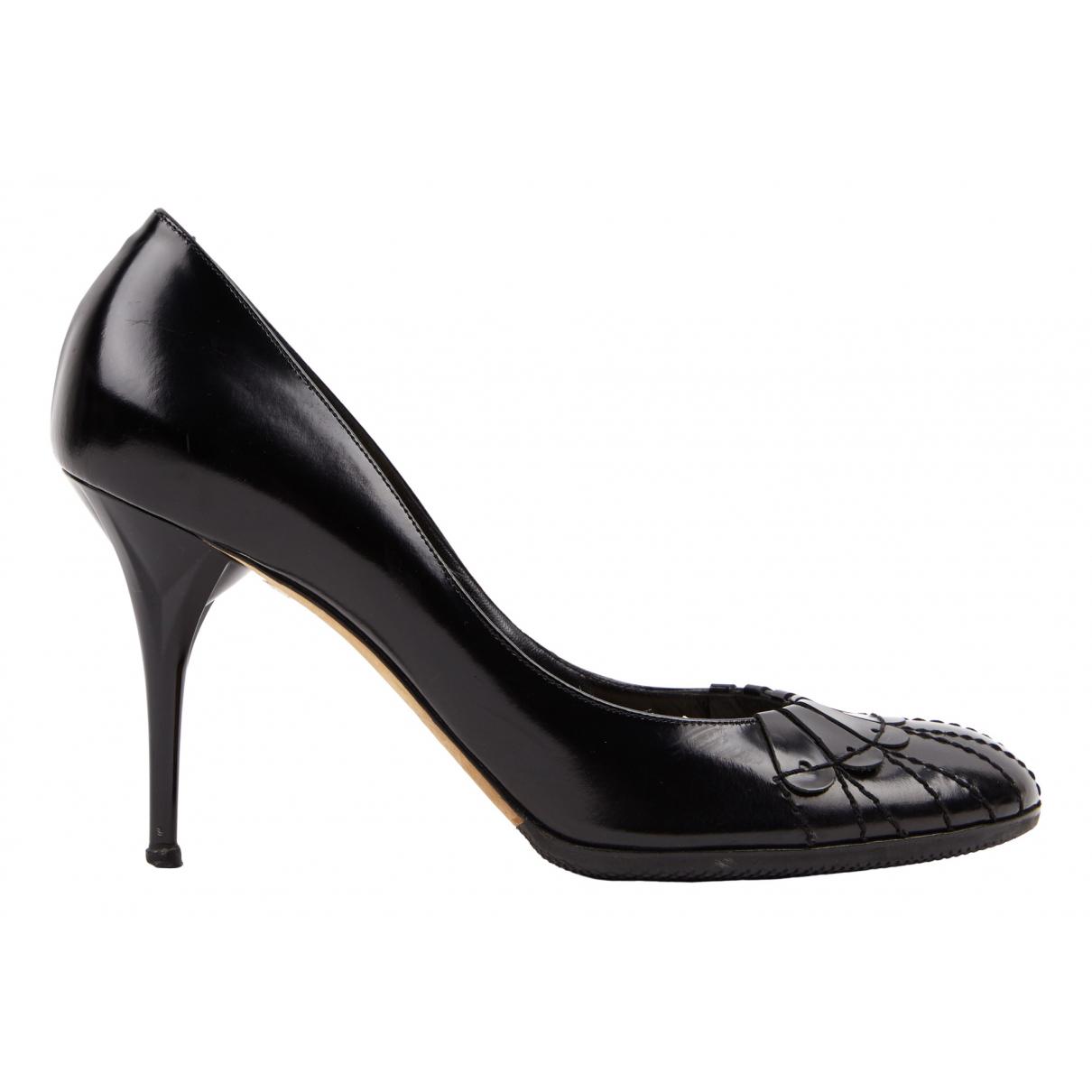 Christian Dior \N Black Patent leather Heels for Women 40 EU