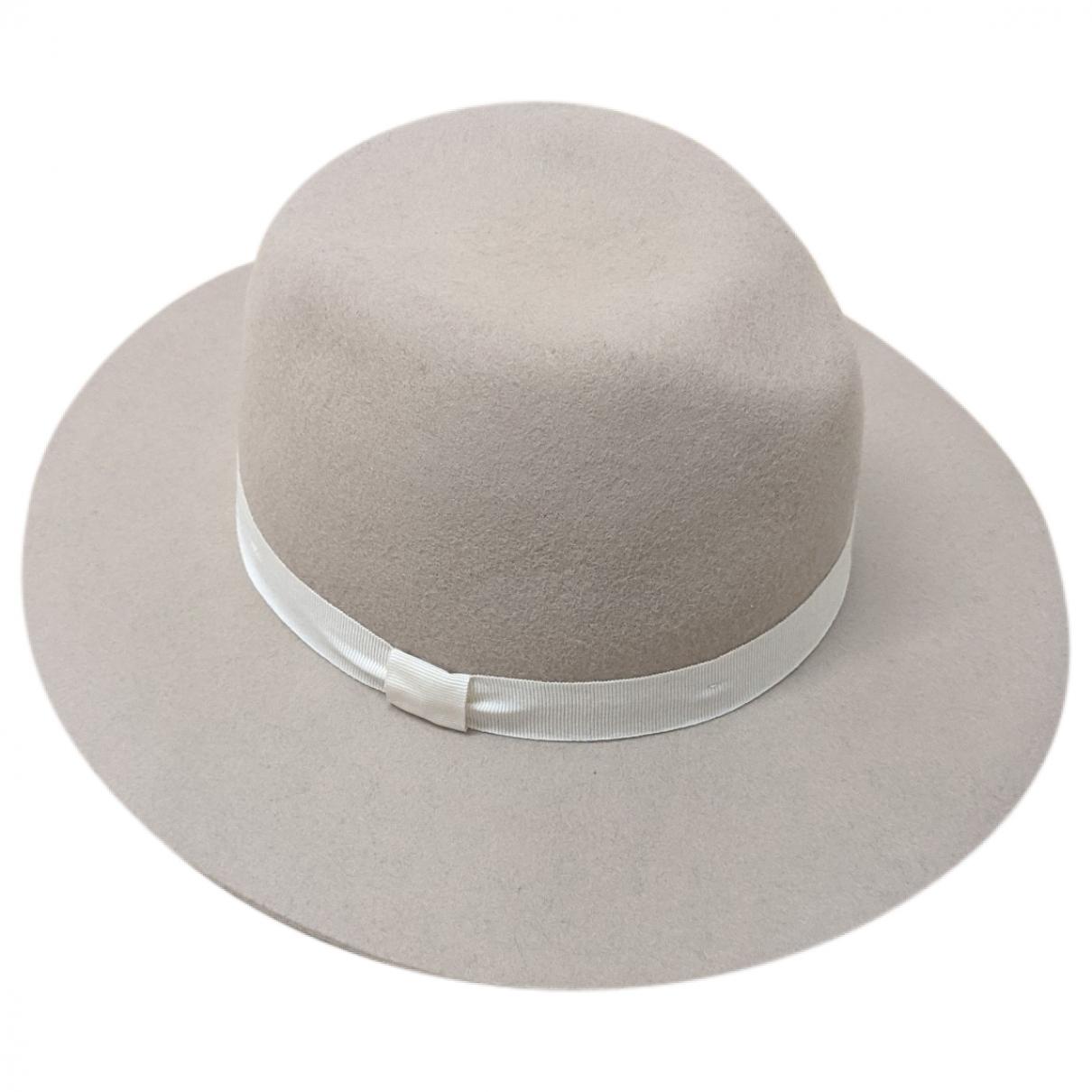 Club Monaco \N Grey Wool hat for Women M International