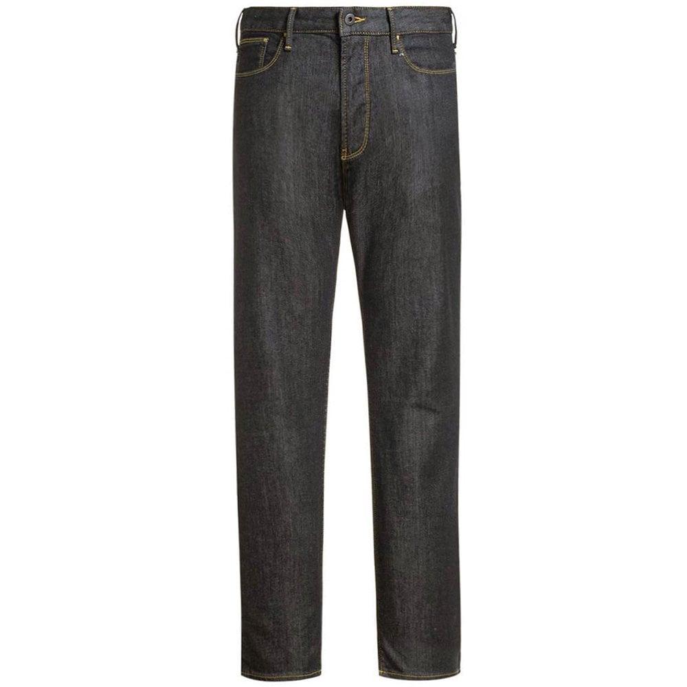 Emporio Armani J06 Slim Fit Jeans Grey Colour: BLACK, Size: 32 30