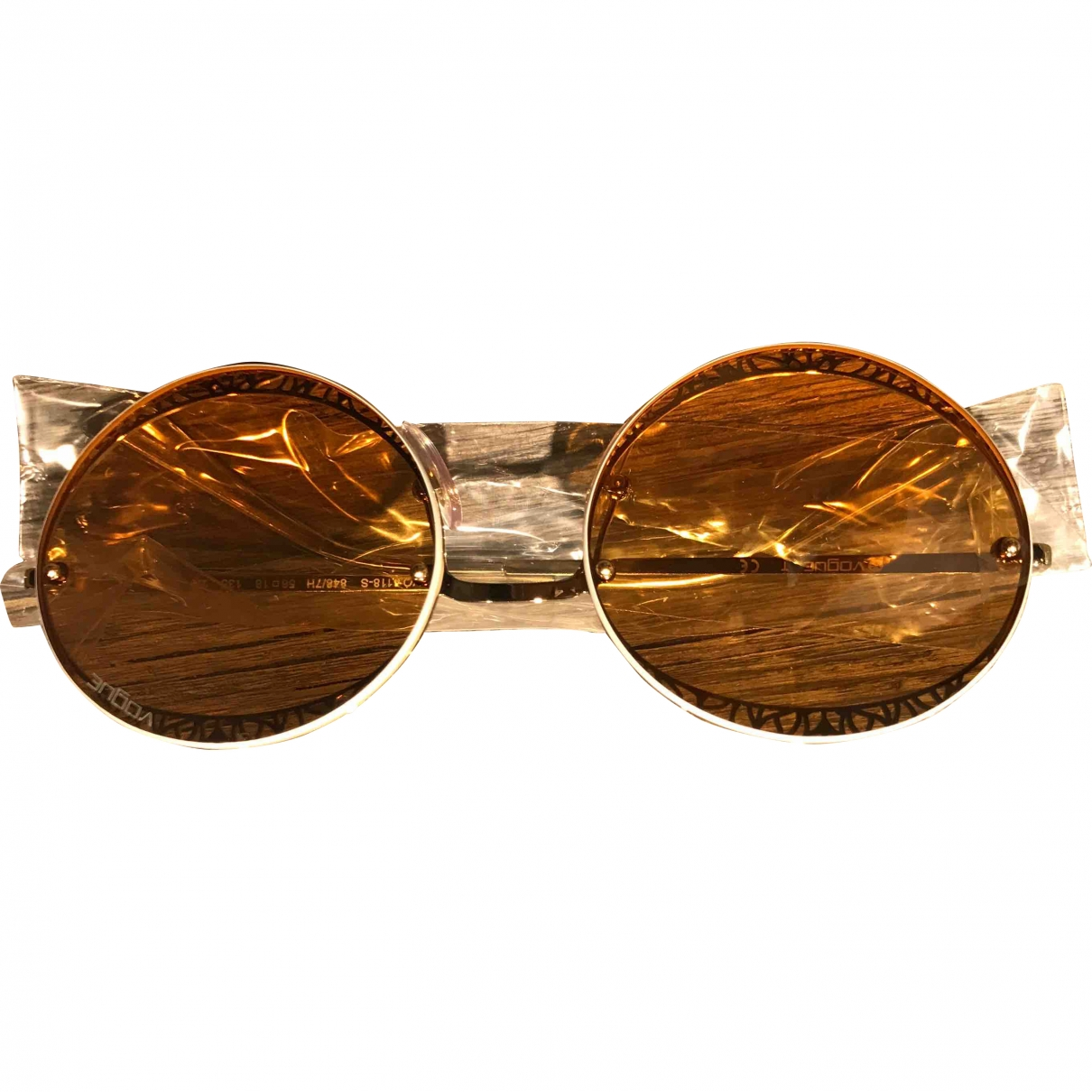 Vogue \N Gold Metal Sunglasses for Women \N