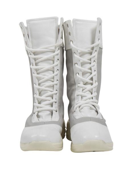 Milanoo Marvel Black Widow 2020 Yelena Belova White Shoes Cosplay Boots