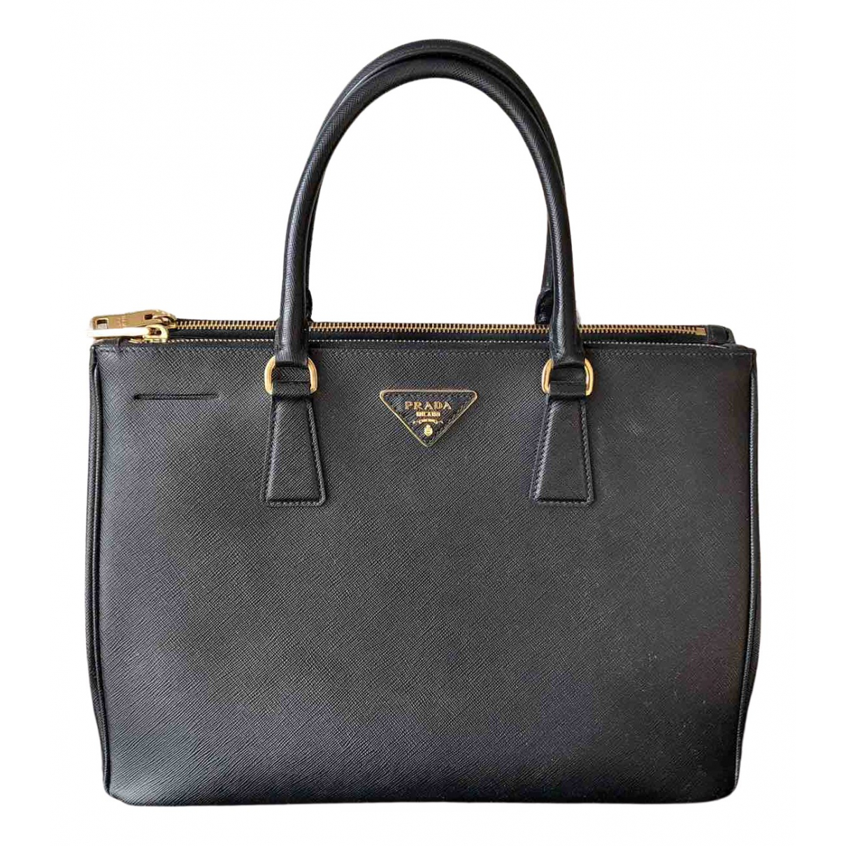Prada Galleria Black Leather handbag for Women N