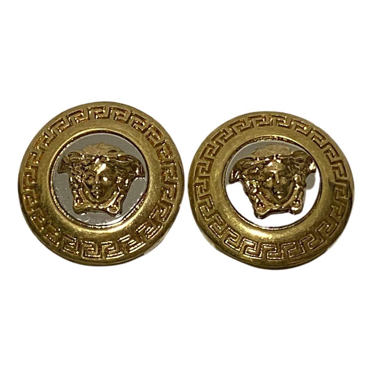 Versace Medusa OhrRing in  Gold Metall