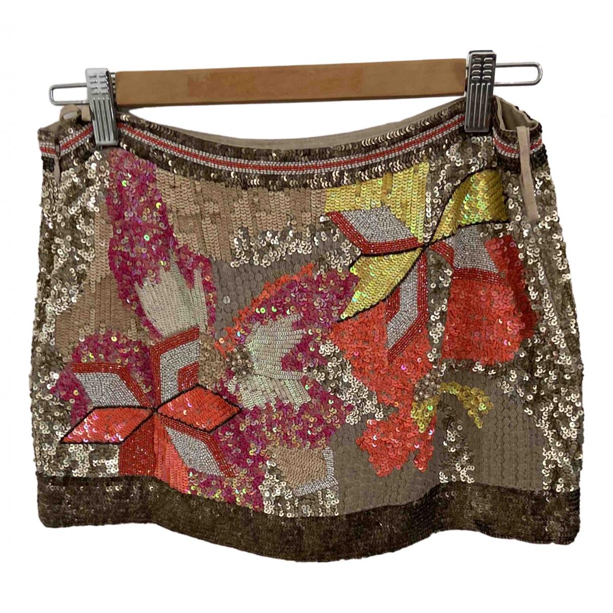All Saints N Multicolour Silk dress for Women 8 UK