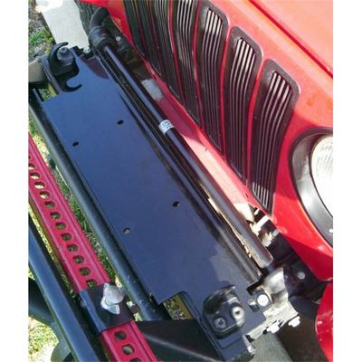 Rugged Ridge Universal Winch Plate (Black) - 11238.10