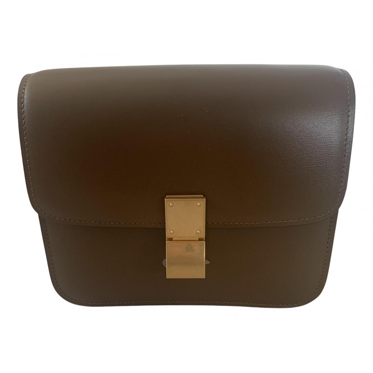 Celine Classic Camel Leather handbag for Women N