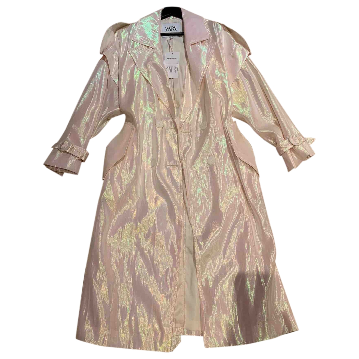 Zara \N Beige Trench coat for Women 38 FR