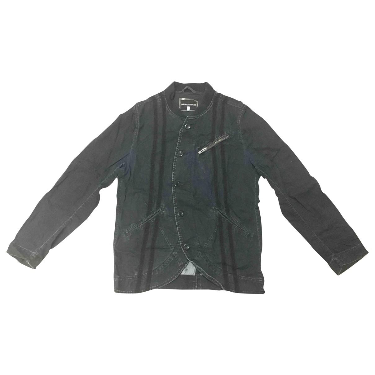 Emporio Armani \N Jacke in  Blau Denim - Jeans