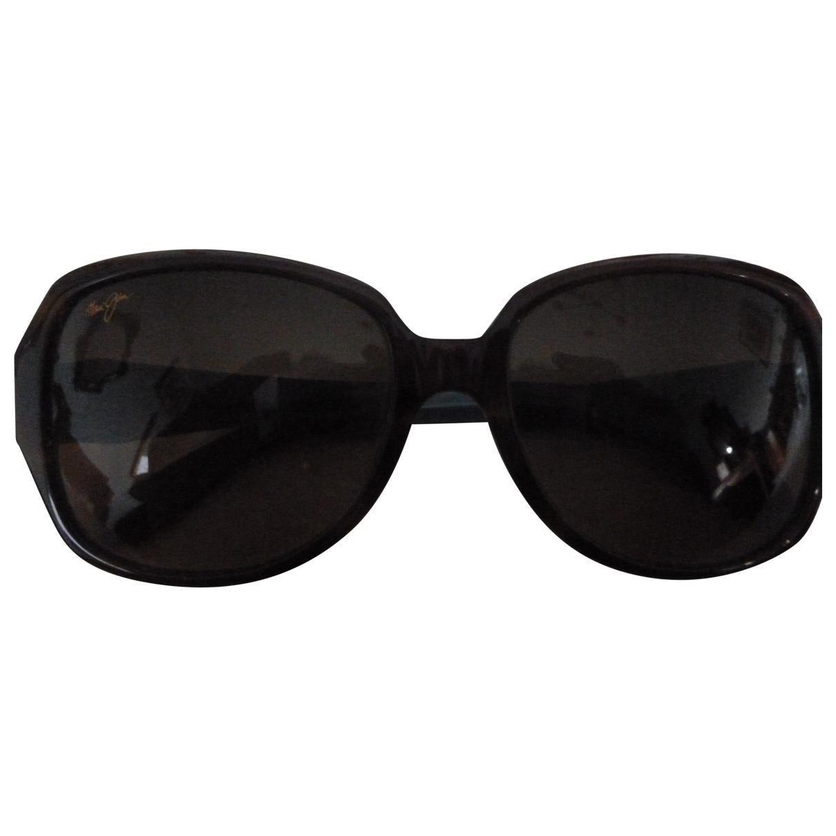 Maui Jim \N Sonnenbrillen in  Braun Kunststoff