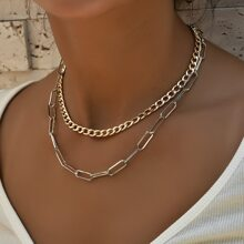 2 Stuecke Halskette