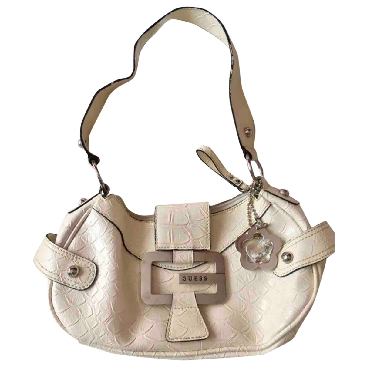 Guess \N White Leather handbag for Women \N