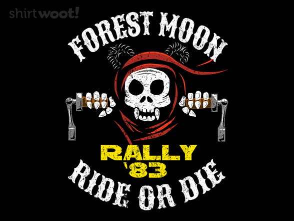 Forest Moon Rally '83 T Shirt