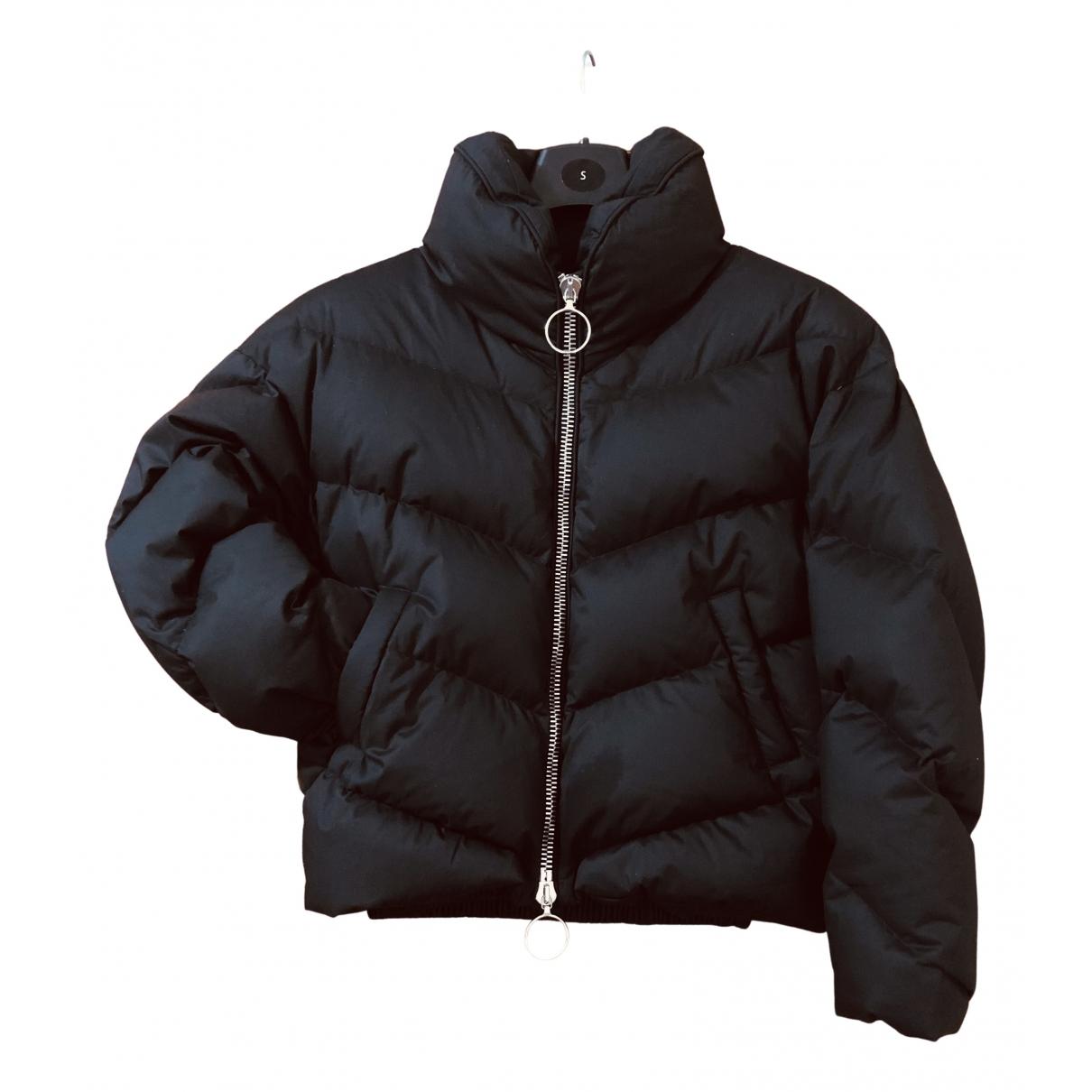 Ienki Ienki - Manteau   pour femme en coton - noir