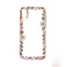 Faux Pearl Frame iPhone Case