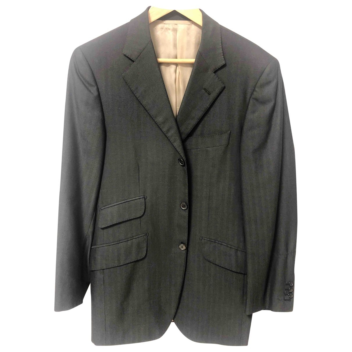 Cifonelli \N Anthracite Cashmere jacket  for Men 50 IT