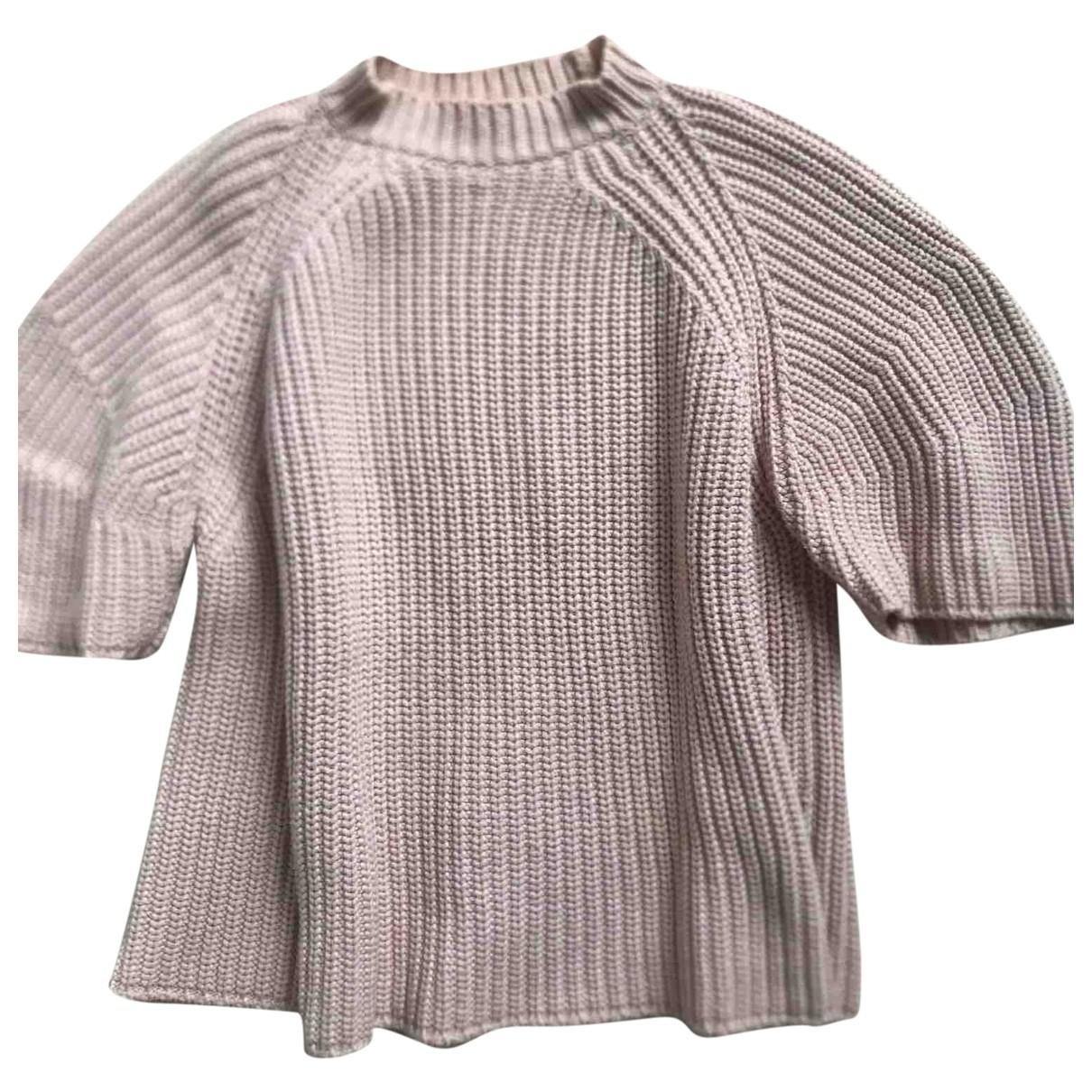 Sport Max \N Pullover in  Rosa Baumwolle