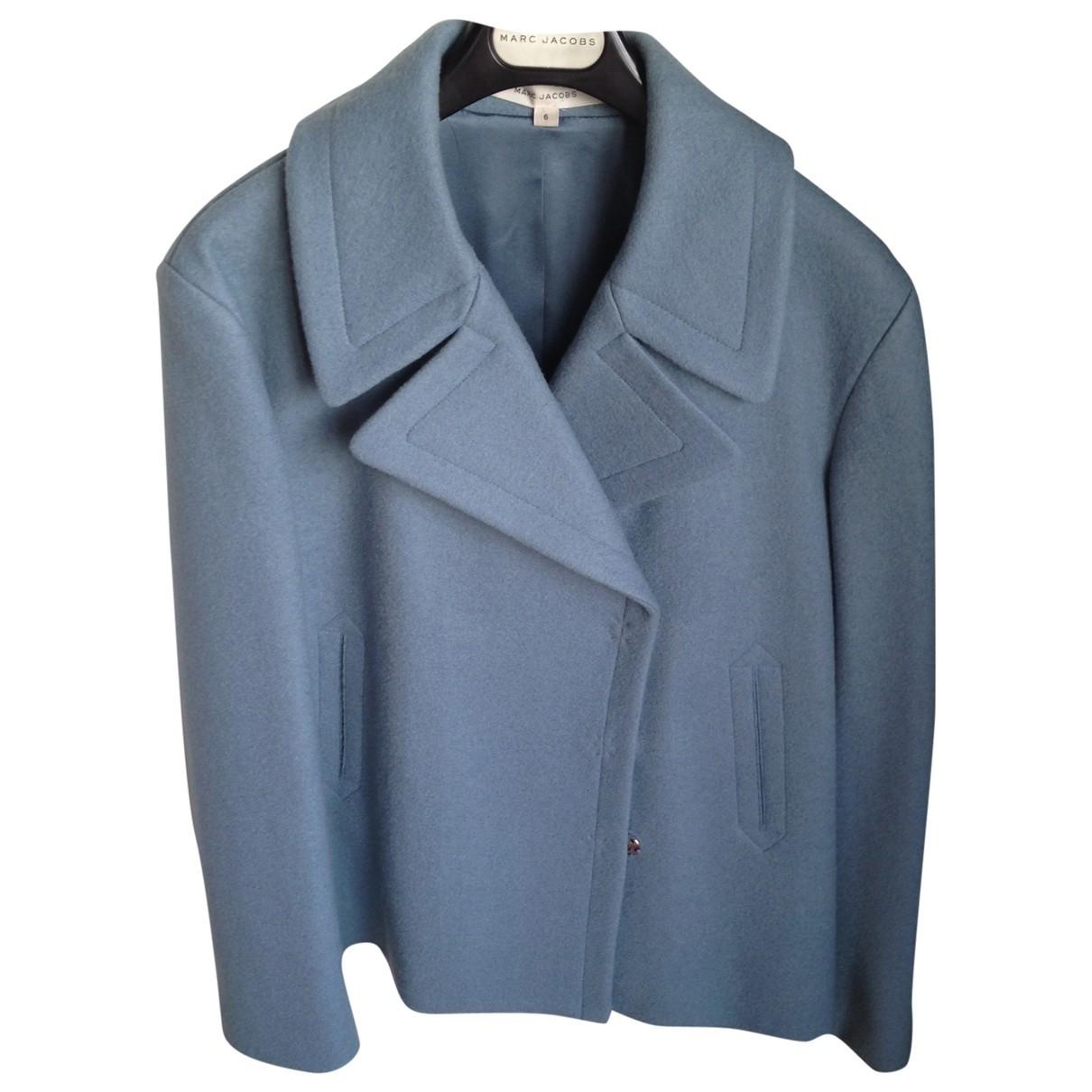 Marc Jacobs \N Blue Wool jacket for Women 6 US