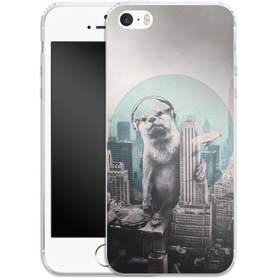 Apple iPhone SE Silikon Handyhuelle - DJ von Ali Gulec