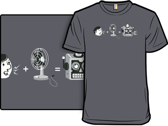 Theory Of The Robot Voice T Shirt