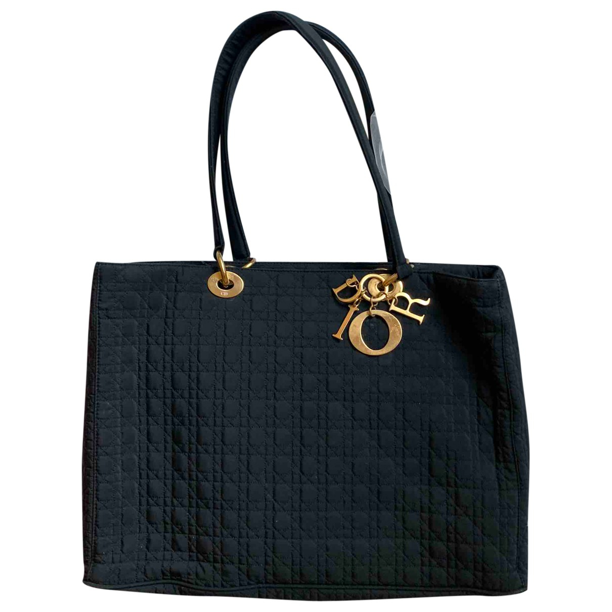 Dior My Lady Dior Black Cloth handbag for Women \N