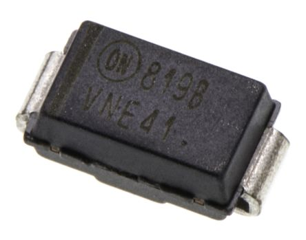 ON Semiconductor , 5.6V Zener Diode 5% 500 mW SMT 2-Pin SMA (10)