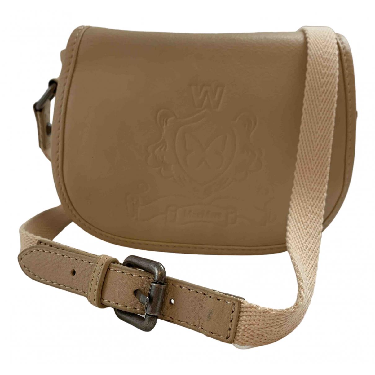 Max Mara Weekend N Beige Leather handbag for Women N